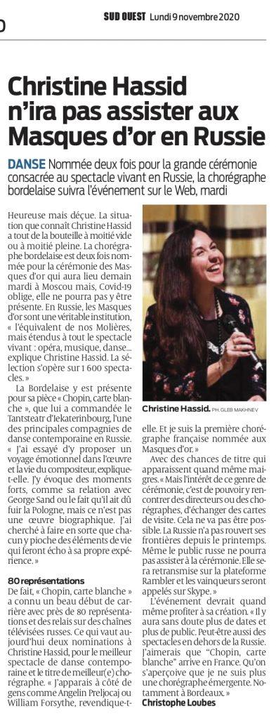 Christine Hassid presse